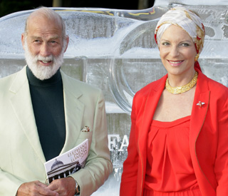 'Our marriage is tremendous', insists Prince Michael
