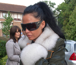 'Typical woman driver' Katie Price's £1,000 driving fine