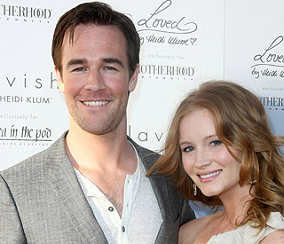 Dawson's a dad: James Van Der Beek has a little girl
