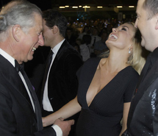 Prince Charming: Charles thrills the ladies at Ryder Cup