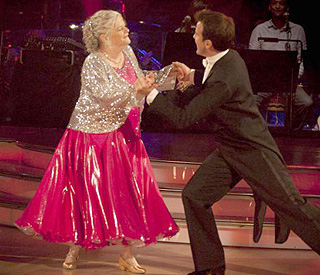 Ann Widdecombe – the surprise star of 'Strictly'