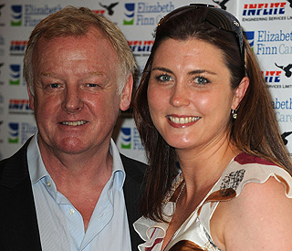 Les Dennis 'delighted' to become father for third time