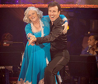 Ann Widdecombe salsas on in 'Strictly' as Goldie exits