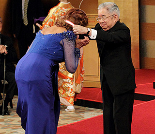 Eternal beauty Sophia Loren honoured by Japan royal