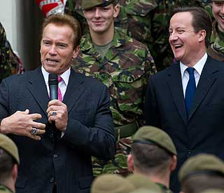Arnold Schwarzenegger to 'terminate UK budget deficit'
