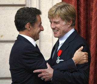 Top French prize for 'Sundance Kid' Robert Redford