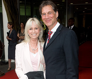 Susan George's tribute to Simon MacCorkindale