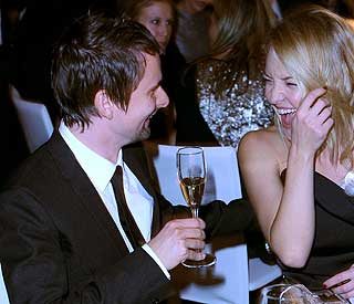 A-musing evening for Kate Hudson and Matt Bellamy
