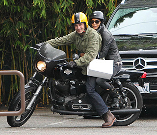 Halle Berry and Olivier Martinez rev up romance