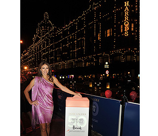 Elizabeth Hurley lends magical touch to Harrods