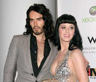 Katy Perry becomes Mrs Brand in 'private ceremony'