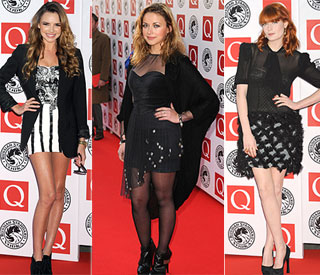 Legs & Co: Charlotte Church and pals show sexy pins