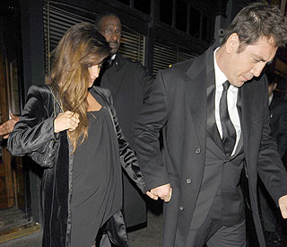 Baby Bardem! Penelope Cruz shows off her big bump