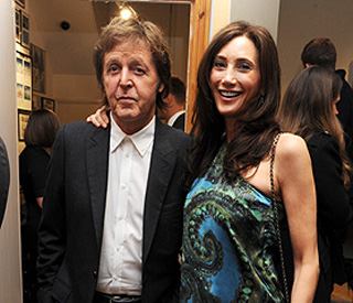 'Doting dad' Paul McCartney's half-term holiday