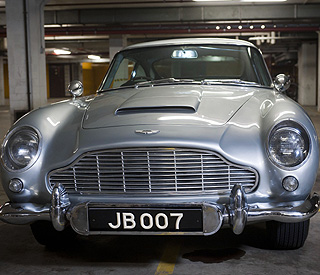 James Bond's Aston Martin fetches £2.6m at auction