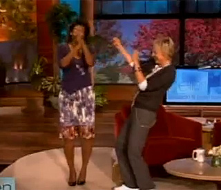 Michelle Obama busts some moves on 'Ellen'