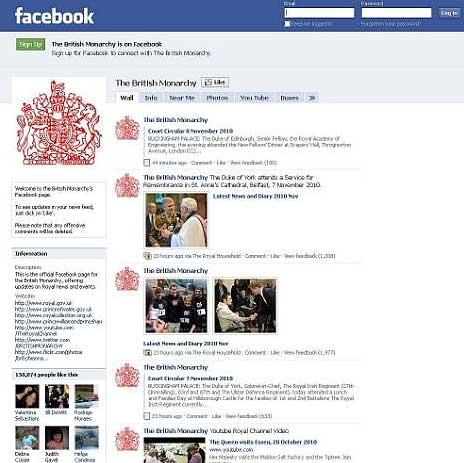Queen's Facebook page attracts over 200,000 visitors
