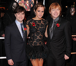 Just magical: Emma Watson at 'Harry Potter' premiere