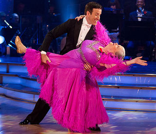 Ann Widdecombe foxtrots to safety on 'Strictly'