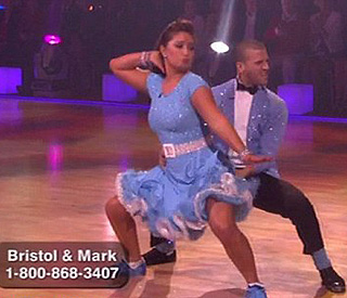 How did Bristol Palin do on 'Dancing with the Stars'?
