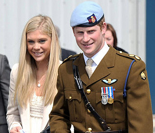 Prince Harry wants Chelsy Davy to go to the wedding
