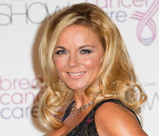 Back to the studio for Geri Halliwell
