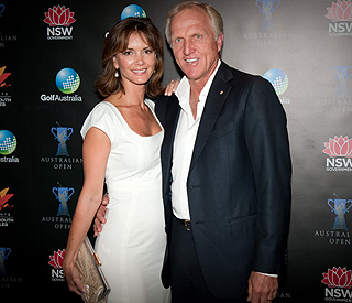 Months after divorce, Greg Norman out with new wife