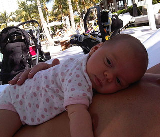 Lance Armstrong's 'beautiful little lady'