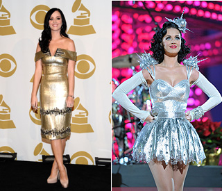Golden girl Katy Perry up for four Grammy awards