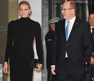 Prince Albert just can't take his eyes off Charlene