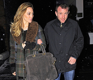Guy Ritchie still going strong with his model love