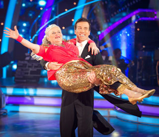 Ann Widdecombe puts away her dancing shoes