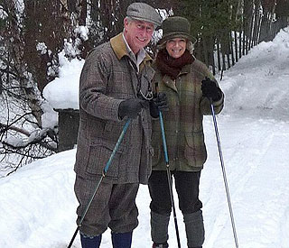 Charles and Camilla ice cool on fun Christmas card