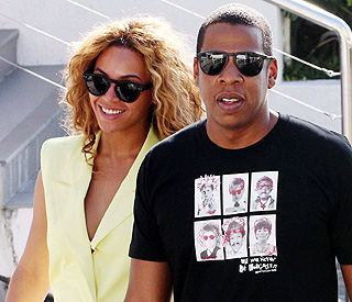 Beyonce and Jay-Z take their romance Down Under