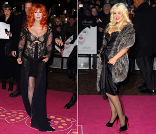Cher takes red carpet fashion tips from Cheryl Cole