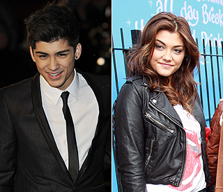 X Factor's Zain Malik and Geneva Lane go public