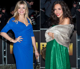 Radiant mums Holly and Myleene dazzle on red carpet