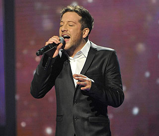 Christmas number one for X Factor's Matt Cardle