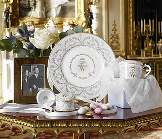 William and Kate's official wedding china goes on sale