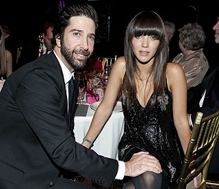 David Schwimmer and new British wife expecting