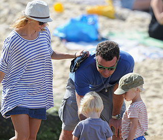 Life's a beach for Naomi Watts' family at Christmas