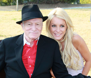 Third time's a charm: Hugh Hefner gets engaged