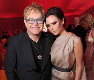 'Thrilled' Victoria Beckham sends congrats to Elton