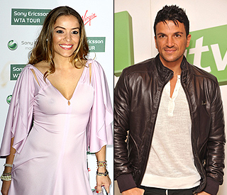 Peter Andre's cosy dinner date with Elen Rivas