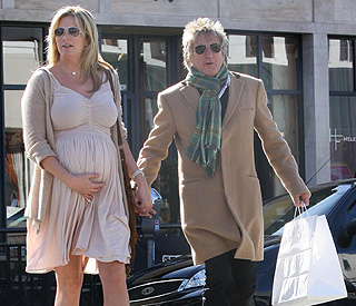 Penny and Rod Stewart: bumping along nicely