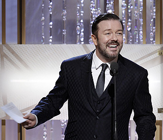 Controversial quips from ceremony host Ricky Gervais
