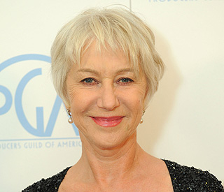 Dame Helen Mirren joins cropped-hair craze
