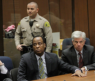 Dr Conrad Murray pleads 'not guilty' as trial date set