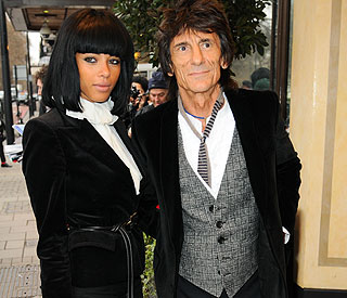 Ronnie Wood is a 'free man' as divorce is finalised