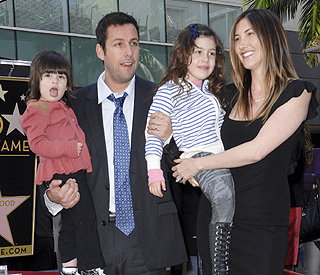 Kids steal show at Adam Sandler's star ceremony